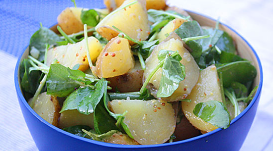 Potato-and-Watercress Salad