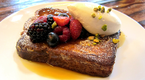 Ricotta-Stuffed French Toast
