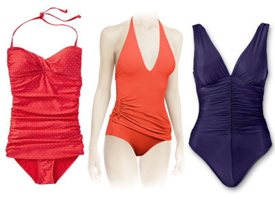 Figure-flattering swimwear