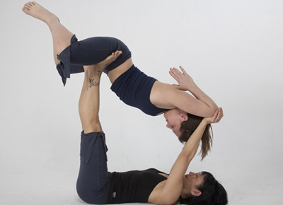 Acroyoga at Yoga at the Raven