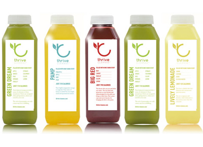 Thrive juice cleanse Body PureWow San Francisco