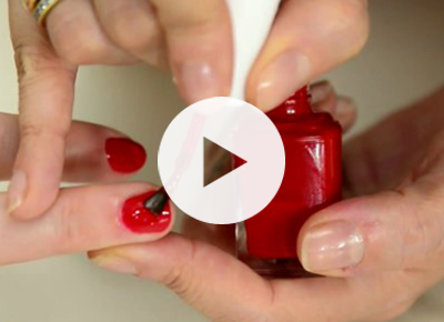 PureWow Presents: Fixing a Smudged Nail