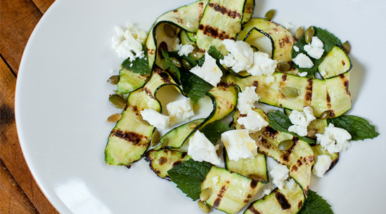 Grilled Zucchini | Recipes - PureWow