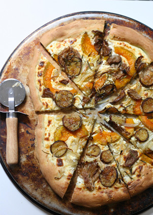 Roasted Veggie and Ricotta Pizza | Recipes - PureWow