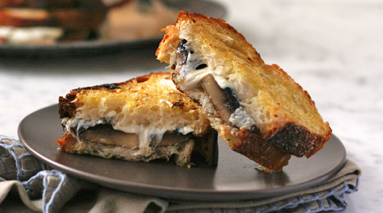 Roasted Mushroom Melts | Recipes - PureWow