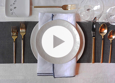 how to set the table properly home purewow national. Black Bedroom Furniture Sets. Home Design Ideas