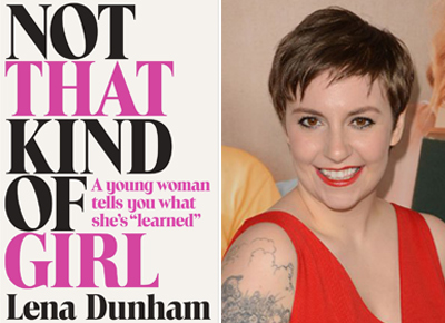 Lena Dunham memoir