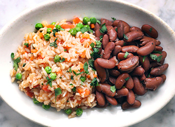 Homestyle Rice and Beans