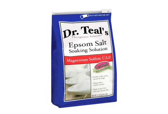 Our guide to cheap beauty products slideshow beauty for Epsom salt in french
