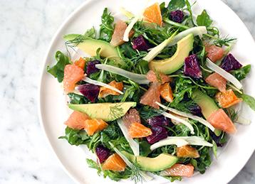 Citrus, Fennel and Avocado Salad