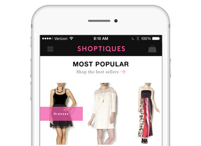 Shop the World?s Best Boutiques from Your Phone