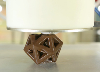 The 3D Chocolate Printer Is a Real Thing
