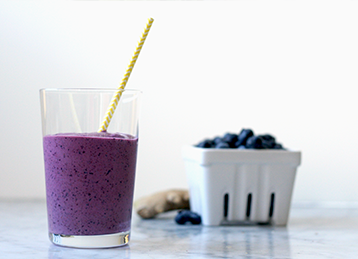 Blueberry-Ginger Smoothie