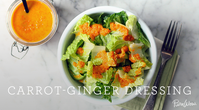 Carrot-Ginger Dressing | Recipes - PureWow