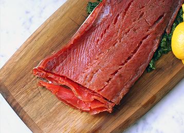 Lemon-Dill Cured Salmon