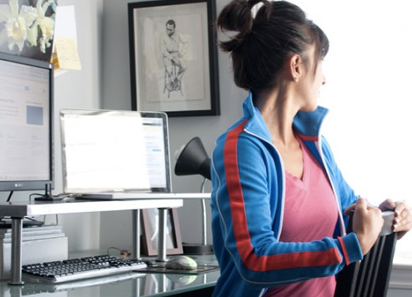 6 ways to work out at your desk