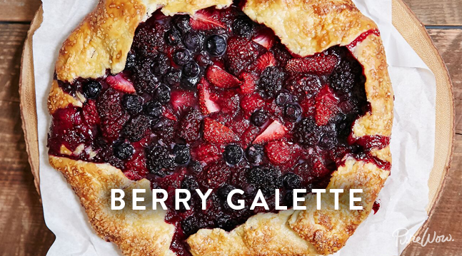Berry Galette | Recipes - PureWow
